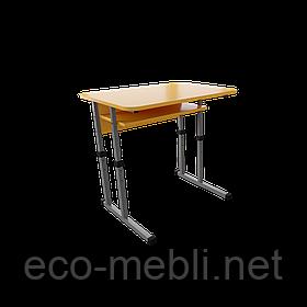Одномісна шкільна парта для навчальних закладів № 1 Метал Дизайн