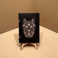 Скетчбук Wolf. Блокнот с деревянной обложкой Волк., фото 1