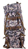 Туристичний рюкзак A49 beige 80L рюкзаки для походу, туристичні рюкзаки недорого
