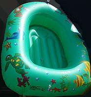 Надувной Бассейн для Плавания и Отдыха Лодочка с Надувным Дном