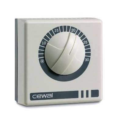 Cewal RQ01,16 А Механический комнатный настенный терморегулятор, фото 2
