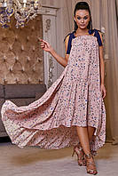 Гламурное женское платье сарафан 3449