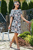 Нежное летнее платье свободного покроя 3517