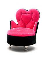 """Шкатулка для бижутерии с зеркальцем """"Кресло"""" (14х11,5х10 см)(X36-307H)"""