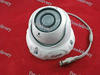 AHD камера видеонаблюдения варифокальная 2Мп f2.8-12 ИК купольная TVPSii TP-VC-DW01