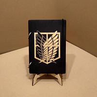 Скетчбук А5. Блокнот с деревянной обложкой. Блокнот в деревянном переплете. Деревянный блокнот, фото 1