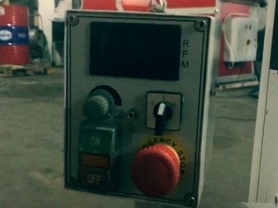 Функциональная панель управления фрезерного станка Zenitech BFM 25 Vario