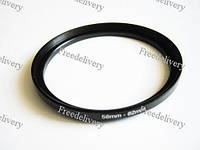 Повышающее степ кольцо 58-62мм для Canon, Nikon