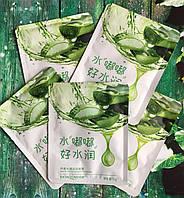 Маска-салфетка для лица с алое для чувствительной кожи