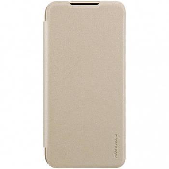 Кожаный чехол (книжка) Nillkin Sparkle Series для Xiaomi Redmi Note 7 / Note 7 Pro / Note 7s