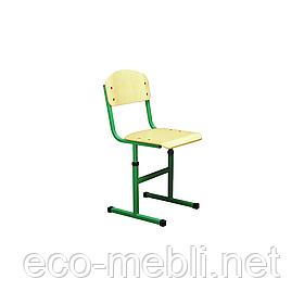 Стілець шкільний для навчальних закладів № 1 дві опори Метал Дизайн