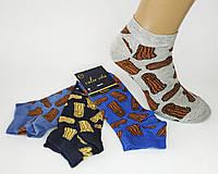 """Молодежные укороченные хлопковые носки """"Calze Vita"""". Турция. №1805., фото 1"""