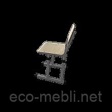 Стілець шкільний для навчальних закладів № 1 чотири опори Метал Дизайн