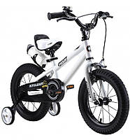 Детский велосипед Royal Baby Freestyle RB16B-6 БЕЛЫЙ
