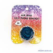 Держатель для телефона Popsocket blue rose