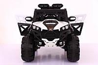 Детский электромобиль GRIZZLY WS896  4*4  цвет черный с белым