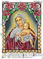 """""""Мария с Иисусом"""" схема под бисер"""