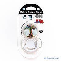 Держатель для телефона TOTO Popsocket plastic BNS-C 845 Tree (White)