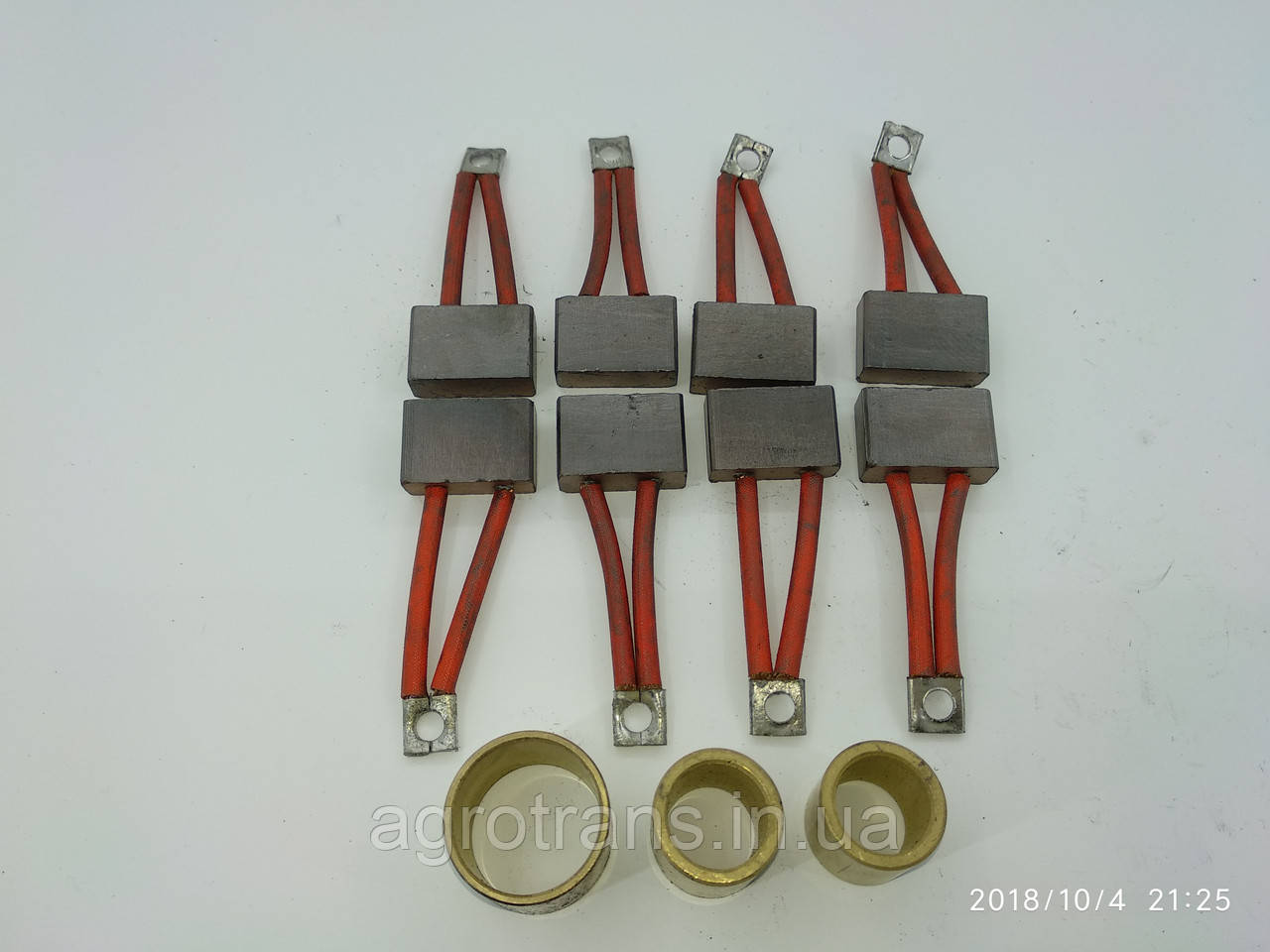 Ремкомплект стартера МАЗ СТ-25 (3 втулки, 8 щеток) СТ25-3708020 (ЯМЗ, Дон, Т-170, К702)