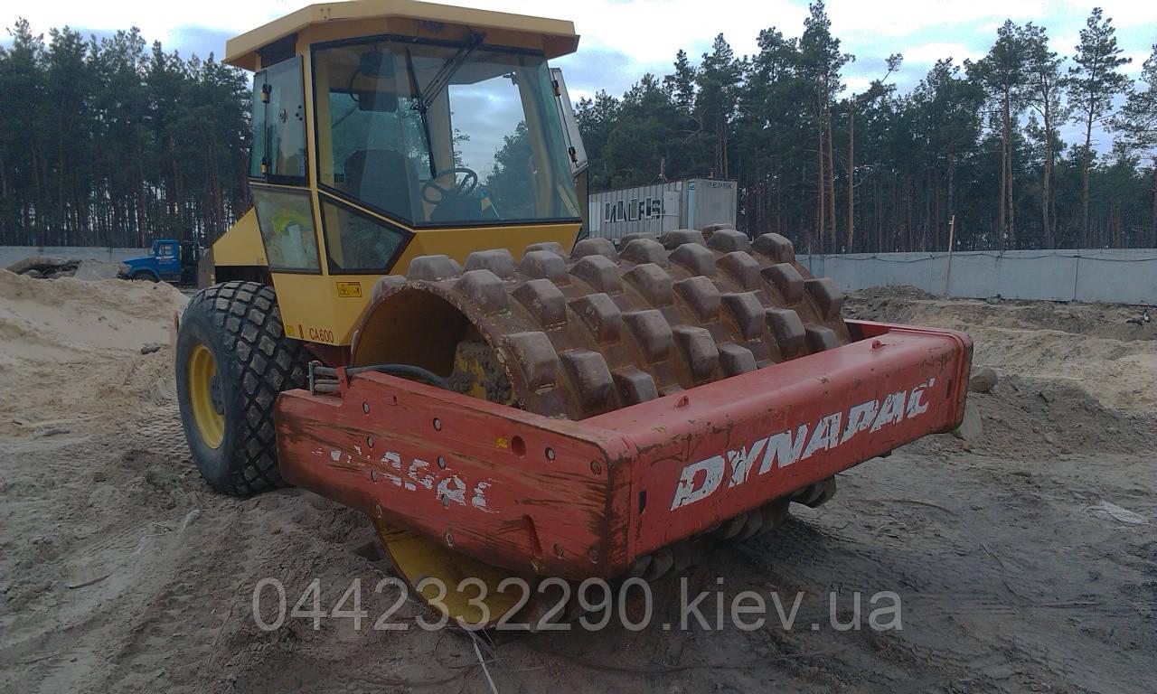 Аренда Катка Грунтового Jcb, Bomag, Dynapac