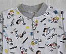 Летняя детская пижама для мальчиков серая р.110-116 см (OZTAS, Турция), фото 3