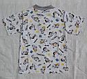 Летняя детская пижама для мальчиков серая р.110-116 см (OZTAS, Турция), фото 4