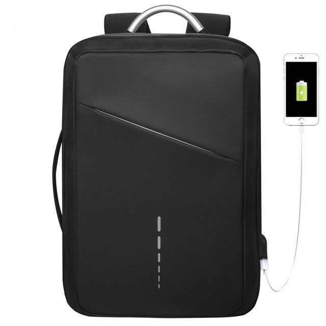 Деловой бизнес рюкзак Kaka 506 для ноутбука и планшета, с RFID защитой, 20л
