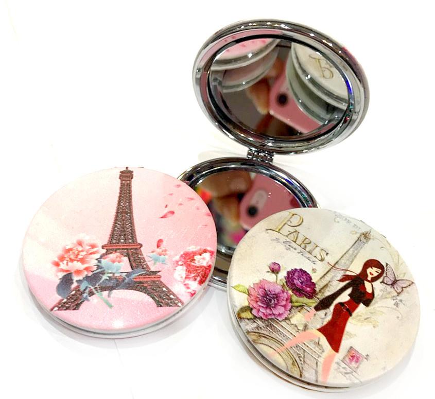 Сувенирное зеркало «Париж» 7 см