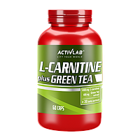 ActivLab, L- Carnitine Green Tea, 60 капсул