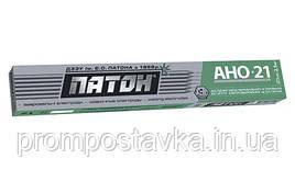 Электроды Патон ELITE АНО-21 диаметр 3 мм вес 5 кг