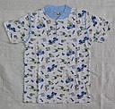 Летняя детская пижама для мальчиков голубая р. 122-128 см (OZTAS, Турция), фото 2