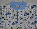 Летняя детская пижама для мальчиков голубая р. 122-128 см (OZTAS, Турция), фото 3