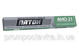 Электроды Патон ELITE АНО-21 диаметр 4 мм вес 5 кг