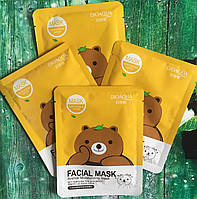 ТКАНЕВАЯ МАСКА BIOAQUA FACIAL MASK ANIMAL(МИШКА)