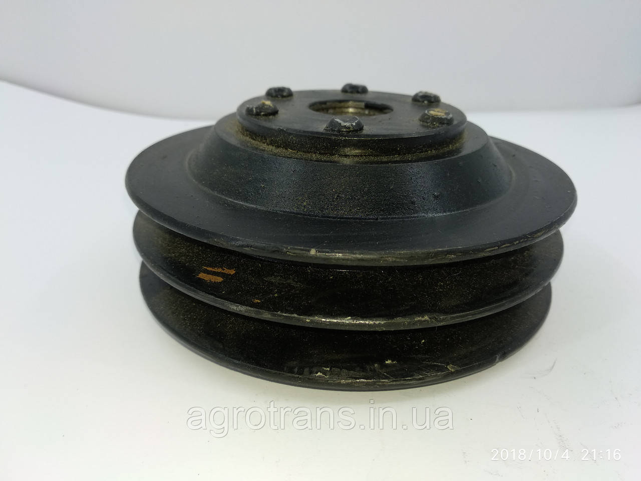 Шкив насоса на гидроусилитель руля МАЗ 5336-3407240. Шків насоса на гідропідсилювач керма МАЗ