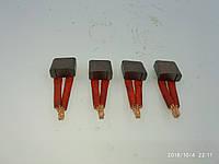 Щетки стартера МТЗ (Чех) комплект 4 штуки 123703001