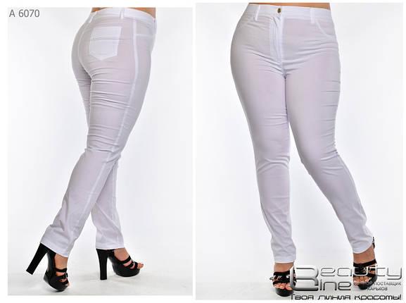 Летние легкие женские брюки большого размера с 52 по 60, фото 2