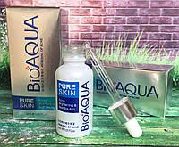Сыворотка от акне Bioaqua Pure Skin, для проблемной кожи 30 мл.