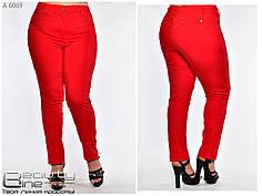 Летние легкие женские брюки большого размера с 52 по 60, фото 3