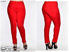 Стильные легкие женские брюки большого размера с 52 по 60, фото 3