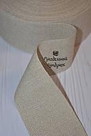 Канва лента для вышивки Vaupel & Heilenbeck (Германия), ширина 6 см (цвет натурального льна)