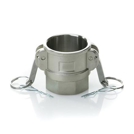 Быстроразъёмное соединение Camlock (камлок) D-400 (DN100) нерж. сталь