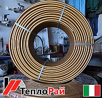 Итальянская Труба для теплого пола BELUGGI PE-RT 16x2 Золотая (GOLD) Италия