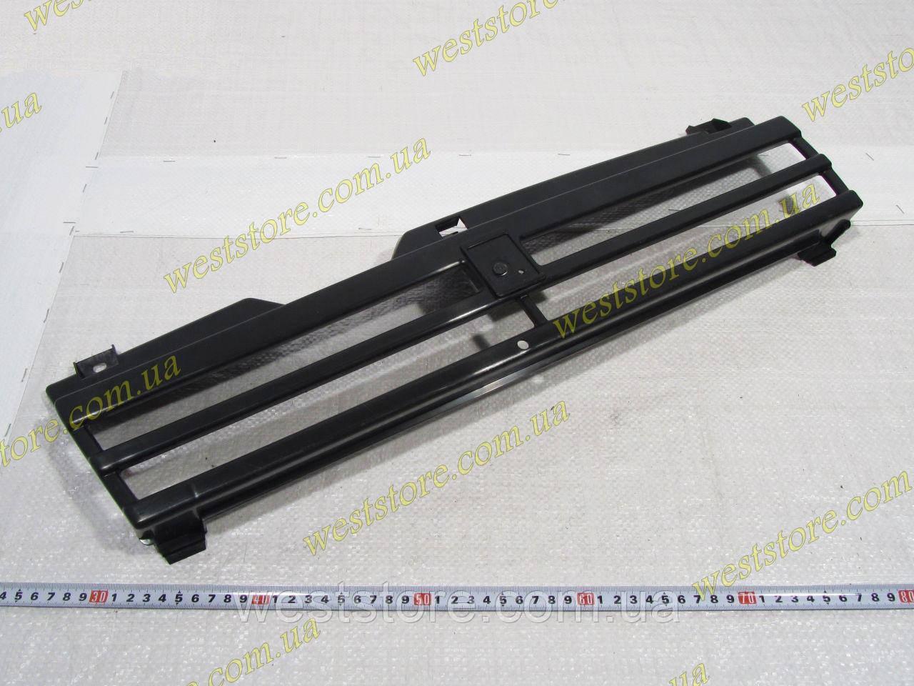Решетка радиатора Ваз 2108,2109,21099 длинное крыло черная Россия