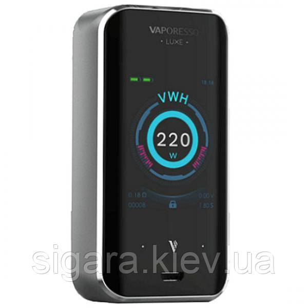 Vaporesso Luxe 220W Touch Screen TC MOD Silver