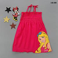 Летний сарафан Barbie для девочки. 98-104;  122-128 см, фото 1