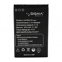 Аккумулятор Sigma Comfort 50 mini 3, 850 mAh Оригинал