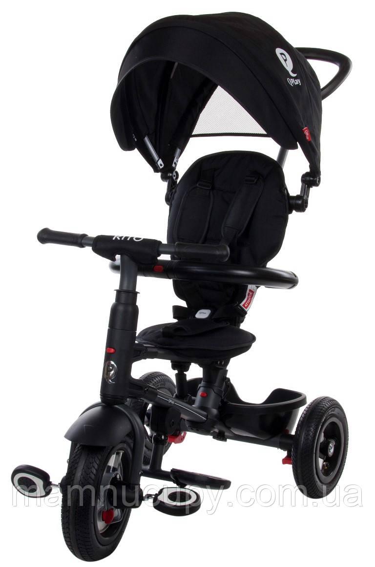 Детский трехколесный велосипед Sun Baby QPlay Rito Air (J01.014.16) черный