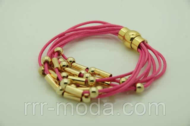 Стильные женские многорядные браслеты из кожи, кожаные браслеты ярких цветов оптом.