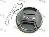 Крышка Canon диаметр 77мм, со шнурком, на объектив